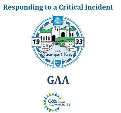 Templenoe GAA Club Critical Incident Response Plan