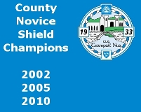 Novice Shield Roll of Honor